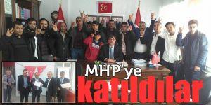 MHP'ye katıldılar