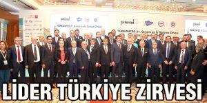 Lider Türkiye zirvesi