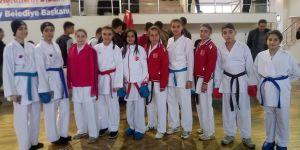 Karate turnuvası sona erdi