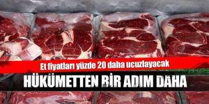 Hükümetten et fiyatlarını düşürecek adım