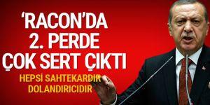 Erdoğan adına 'racon' kesenler şokta! Bu laflar kime?