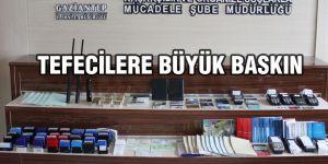Gaziantep'te tefeci operasyonu: 8 gözaltı