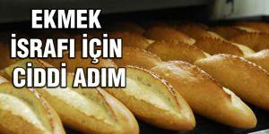 Ekmek israfını önlemeye yönelik adım