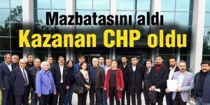 Kazanan CHP oldu