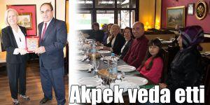 Akpek veda etti