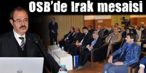 OSB'de Irak mesaisi