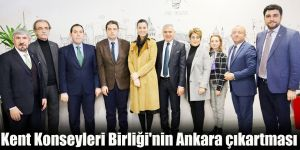 Kent Konseyleri Birliği'nin Ankara çıkartması