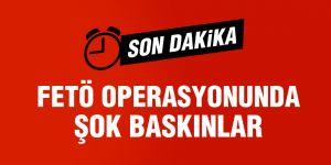 3 ilde FETÖ operasyonu: 7 gözaltı