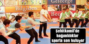 Şehitkamil'de bağımlılıklar sporla son buluyor