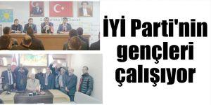 İYİ Parti'nin gençleri çalışıyor
