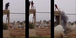 Suriyeliler EYP'leri böyle imha ediyor