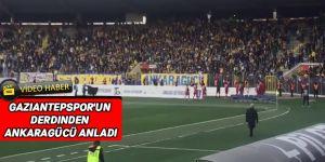 Gaziantepspor'un derdinden Ankaragücü anladı