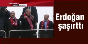 Erdoğan şaşırttı