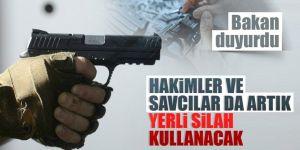 Hakim ve savcılara 20 bin yerli silah verilecek!
