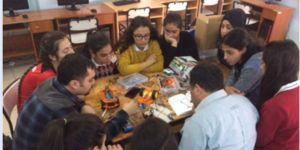 Öğrencilerden proje sergisi