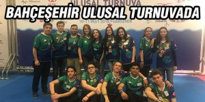 Bahçeşehir ulusal turnuvada