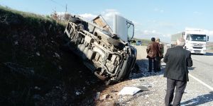 Karayolunda kaza: 1 yaralı
