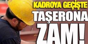Sarıeroğlu açıkladı: Kadroya geçişte yüzde 10 zam