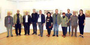 Atar'dan baskı-resim sergisi