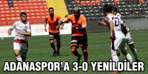 Adanaspor'da istediğini aldı 0 – 3