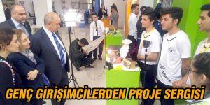 Genç girişimcilerden proje sergisi
