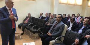 Suriyeli öğrencilere Türkçe sınav
