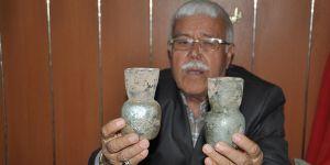 Tarihi eserleri müzeye bağışlıyor