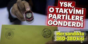 Bir sandıkta 380 seçmen oy kullanacak