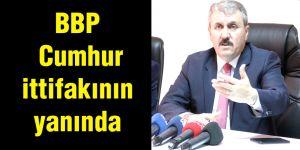 BBP Cumhur ittifakının yanında