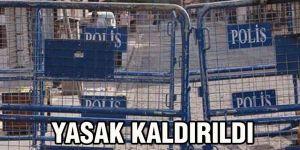 YASAK KALDIRILDI