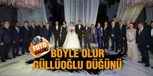 Böyle olur Güllüoğlu düğünü