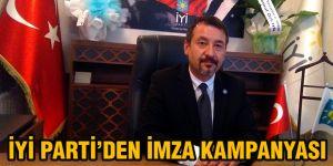 İYİ Parti'den imza kampanyası