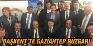 Başkent'te Gaziantep rüzgarı