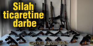 Silah ticaretine darbe: 5 kişi tutuklandı