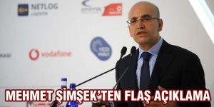 Mehmet Şimşek'ten ilk açıklama