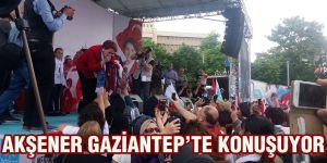 Akşener Gaziantep'te konuşuyor