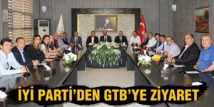 İYİ Parti'den GTB'ye ziyaret