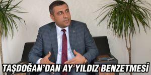 Taşdoğan'dan Ay Yıldız benzetmesi