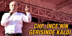 CHP, İnce'nin gerisinde kaldı