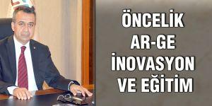 Öncelik ar-ge inovasyon ve eğitim