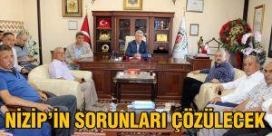 Nizip'in sorunları çözülecek