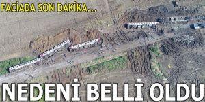 Tren kazasında flaş gelişme!