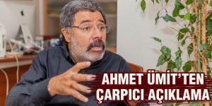 Ahmet Ümit'ten çarpıcı açıklama
