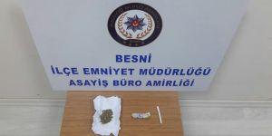 Besni'den uyuşturucu getirmişler