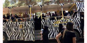 Hayvanat bahçesini gezdiler