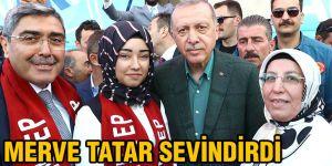 Merve Tatar sevindirdi