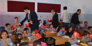 Başkandan öğrencilere ziyaret