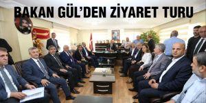 Bakan Gül'den ziyaret turu