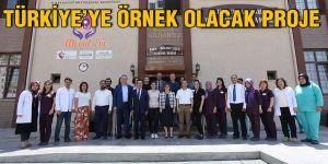 Türkiye'ye örnek olacak proje
