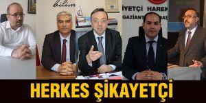 HERKES ŞİKAYETÇİ